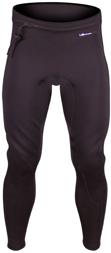 "SUPreme Unisex 1.5mm Contour Quantum Foam Neoprene PantsThe SUPreme contour pants are designed for moderate and cold water conditions. As the name implies these pants ""contour"" your lower body with SUPreme's exclusive Quantum Foam 1.5mm neoprene...."