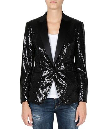 DSQUARED2 Giacca Smoking Con Paillettes. #dsquared2 #cloth #paillettes