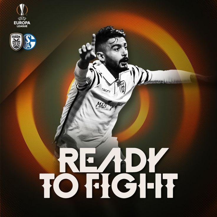 Top goalscorer in #PAOK European history @SKlaous is #ReadytoFight #UEL