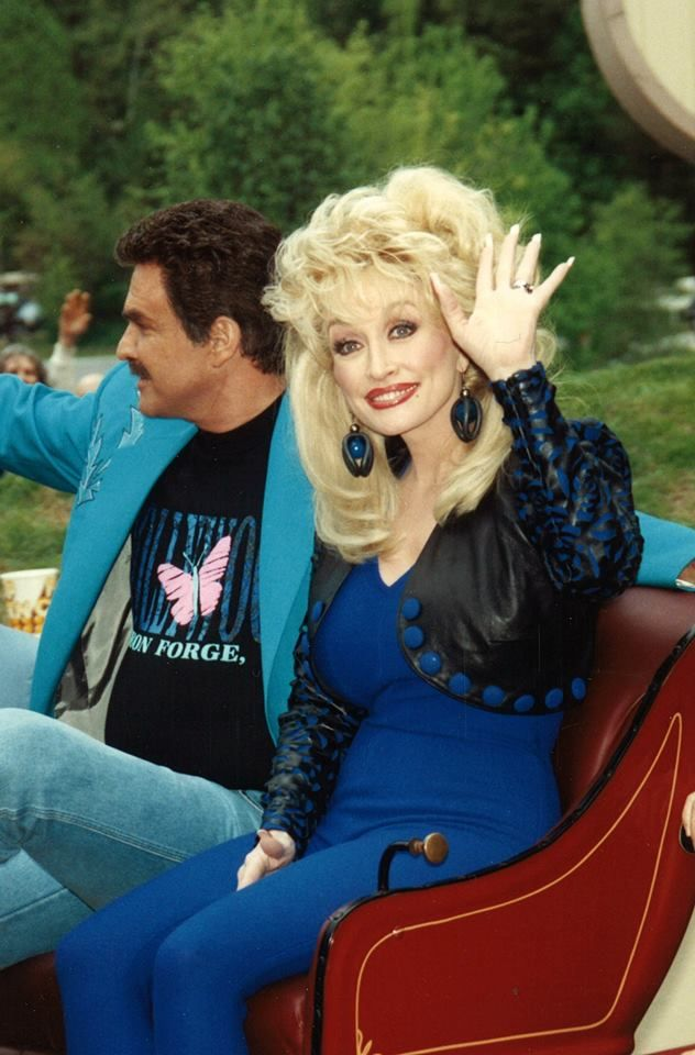 Dolly with Burt Reynolds