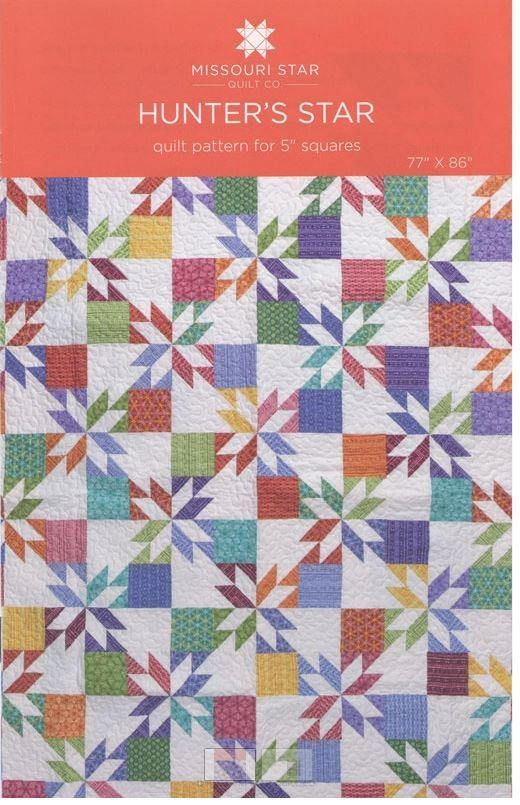 Hunter's Star Quilt Pattern by the Missouri Star Quilt
