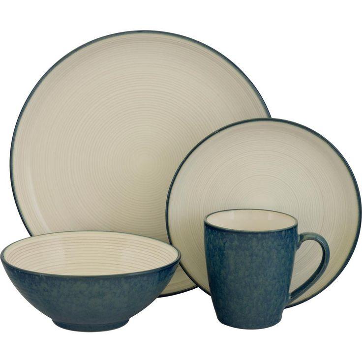 Jewel Blue 16-Piece Dinnerware Set