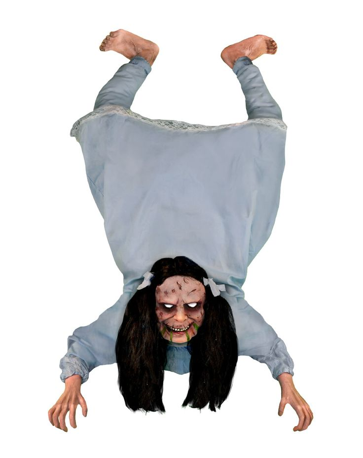 possessed wall hanging girl animated decoration exclusively at spirit halloween freak out all of your - Spirit Halloween Props