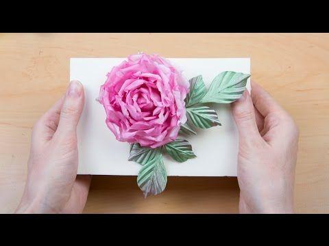 How to make fabric flowers like real (HD) - YouTube
