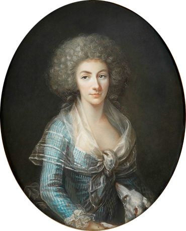 Lady Charlotte Antoinette O'Brien of Thomond, 3ème. Duchesse de Praslin (1759-1808).