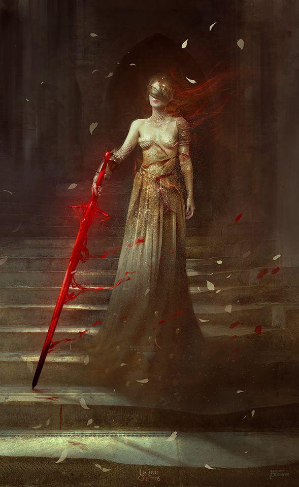 A espada espiritual O presente da Rainha Vermelha