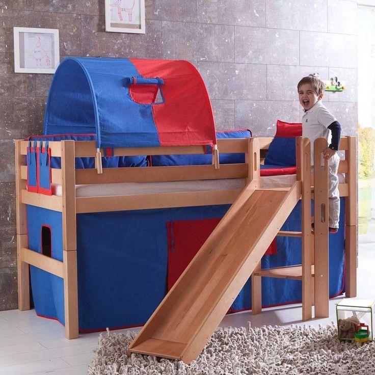 Kinderhochbett mit rutsche roller Die besten 25+ Kinderbett mit rutsche Ideen auf Pinterest ...