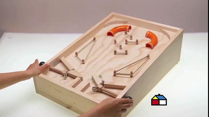 Como hacer un Pinball casero