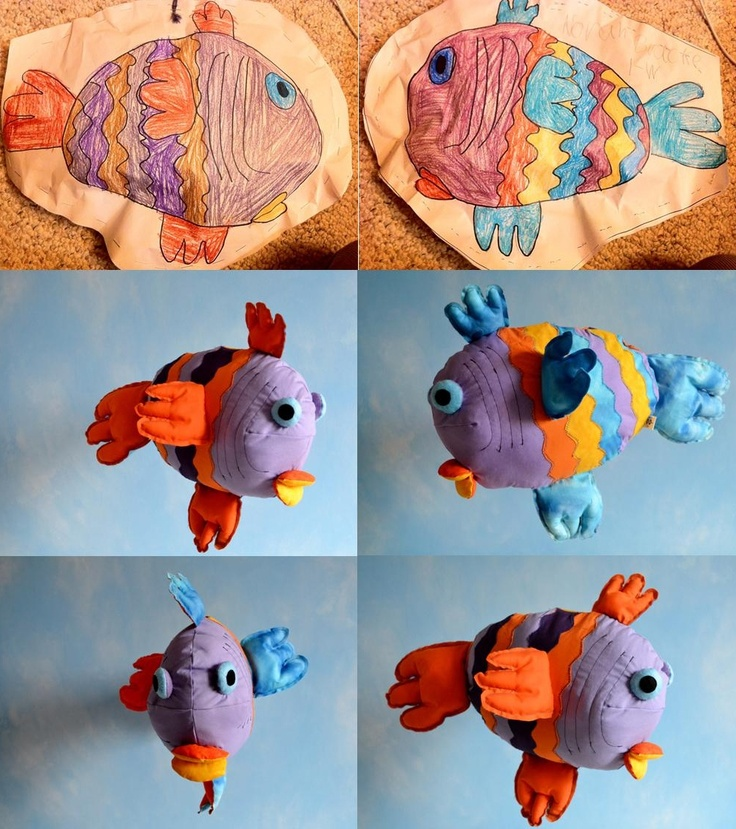 Child's Own Studio | custom making soft toys with children