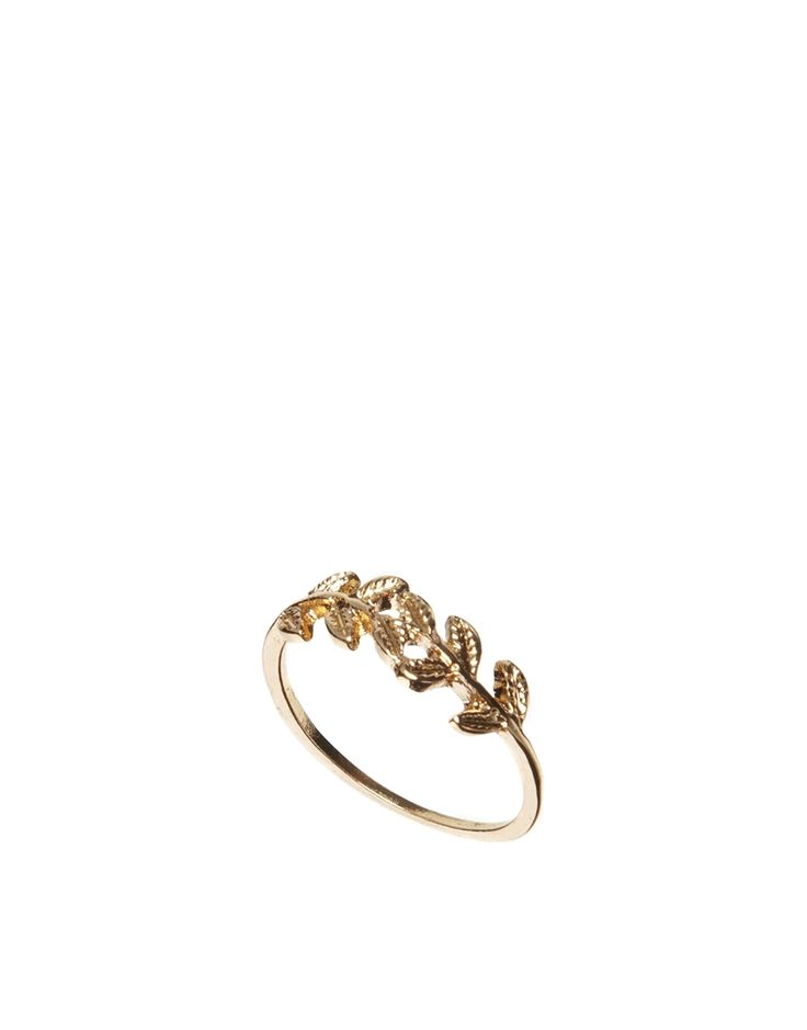 ASOS Branch Ring Would be cuter as a midi ring1 :)