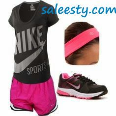 Awesome Hot Pink Nike Sneakers!     as usual, a pair of Nike's Shoes for Cheap im in love with and I can't find them.