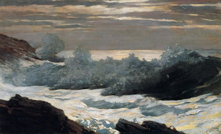 Early Morning After a Storm at Sea | Winslow Homer | oil painting #americanpaintings
