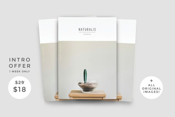 NATURALIS by 46&2 Collective on @creativemarket