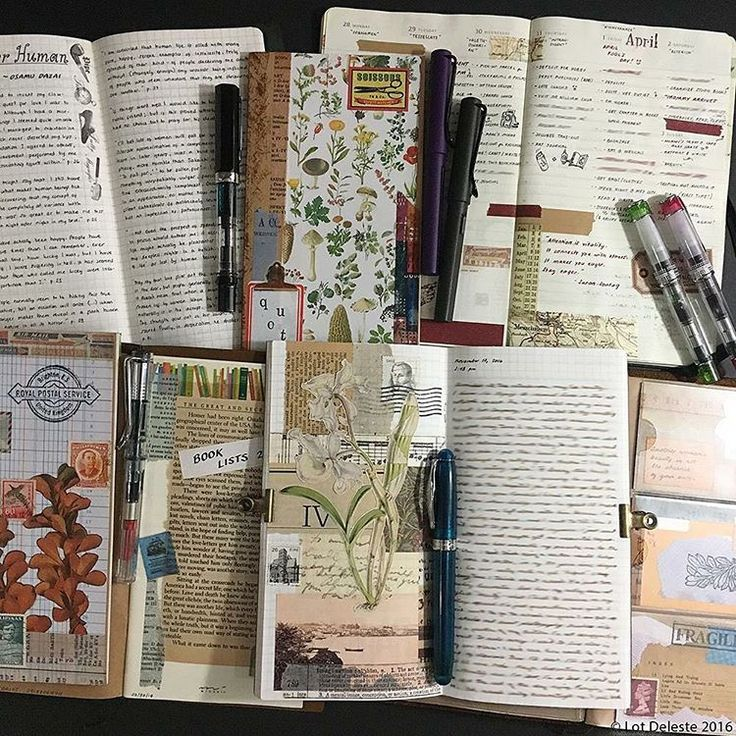 how to use a travlers journal