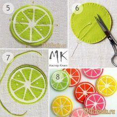 Яркие подставки под кружку из фетра + 3 МК / Идеи для дома / Своими руками / Декор праздников