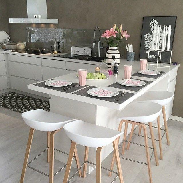 Instagram media by interior4all - Kitchen love Credit: @casa_kristin✨
