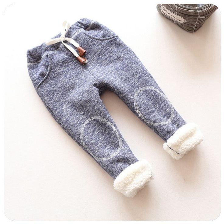 2016 осень новорожденных девочек зимние леггинсы детей плюс толстый бархат брюки…