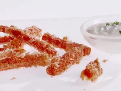Carrot Fries with Lemon-Mint Dip   Giada Food Network