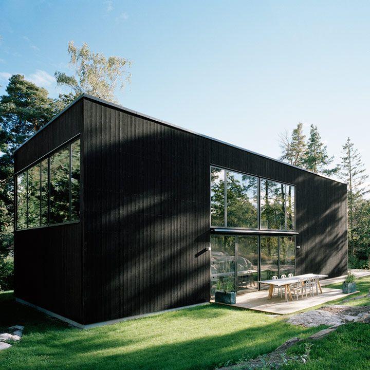 Arkitekthus - Arkitektritade hus av Claesson Koivisto Rune, Thomas Sandell, Tham & Videgård Arkitekter och Gert Wingårdh | Sweden - Norway