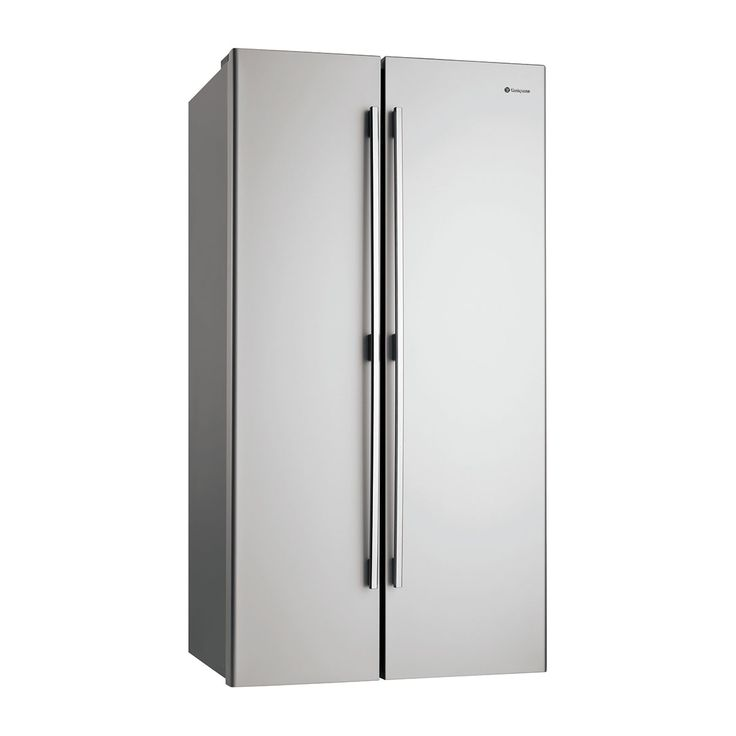 Westinghouse 610L Side By Side Fridge Stainless Steel This Westinghouse side by side fridge has the capacity to suit a large family.