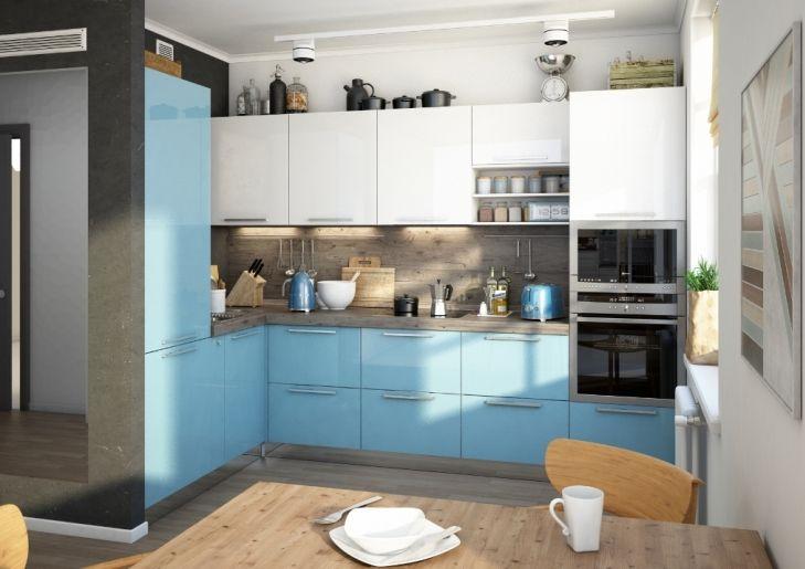 цветовые решения кухонных фасадов - Поиск в Google
