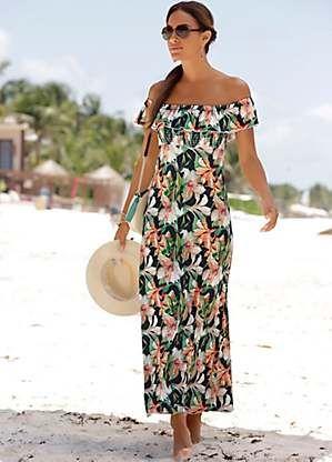 1e8c19e2dd LASCANA Floral Print Maxi Dress   Summer dresses in 2019   Cute ...