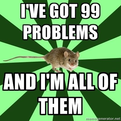 Mental illness mouse #mentalhealth theirrationalmind.com