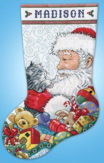Christmas Stockings - Cross Stitch Patterns & Kits - 123Stitch.com