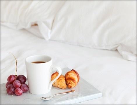 Desayuno en la cama...