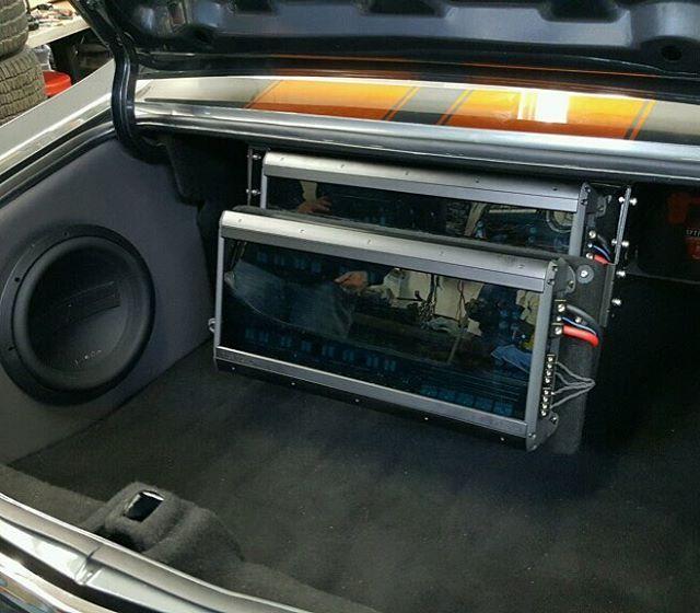 One Loud Page car audio custom install trunk distribution ... |Stormtrooper Car Audio Custom Trunk Install