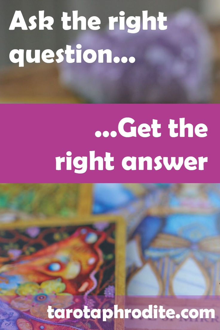 How to ask powerful tarot questions tarot aphrodite in