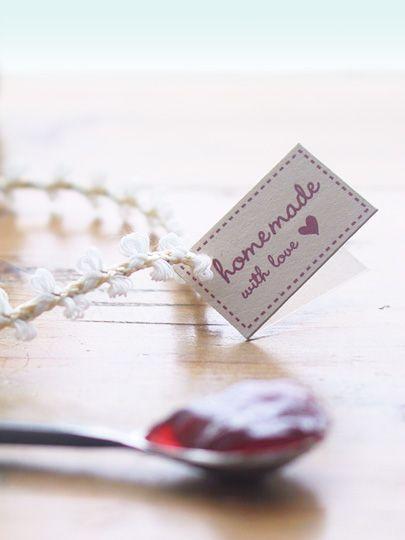 DIY Home Made Jam Packaging- Free Labels