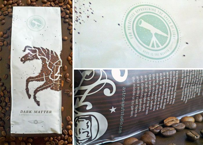 Dark Matter Coffee...the fact that the Pegasus is not photoshopped is amazing in itself