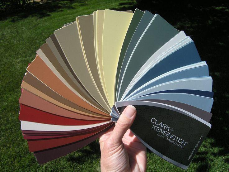 Clark kensington color pallette jewel tones pinterest - Clark and kensington exterior paint ...