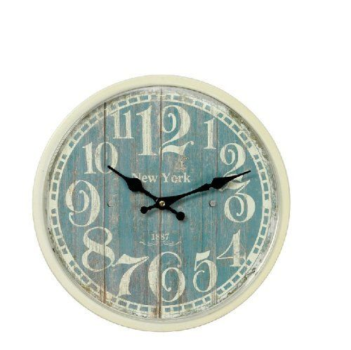 Shabby Chic Kitchen Wall Clock 32cm Dia Http Www