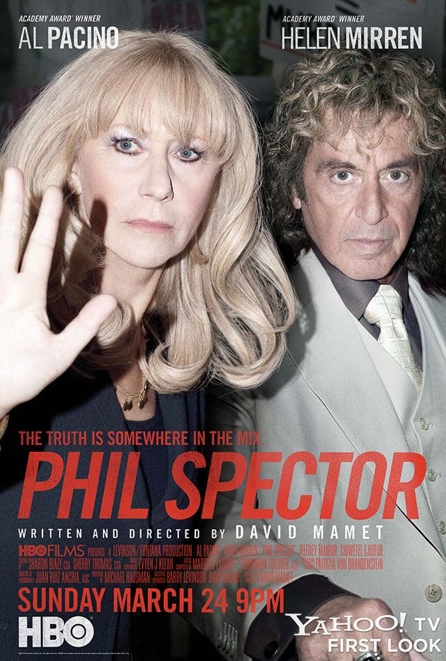 A pretty good film that actually generates some sympathy for Phil Spector. Inspired casting with Al Pacino playing Spector.