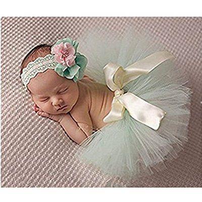 Fashion, Unisex, neonata bambina fantasia di fotografia Copricapo taglia Gonna tutù
