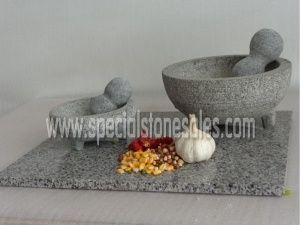 Mexican Style Mortar And Pestle Set Stone Grinding Tool Suppliers