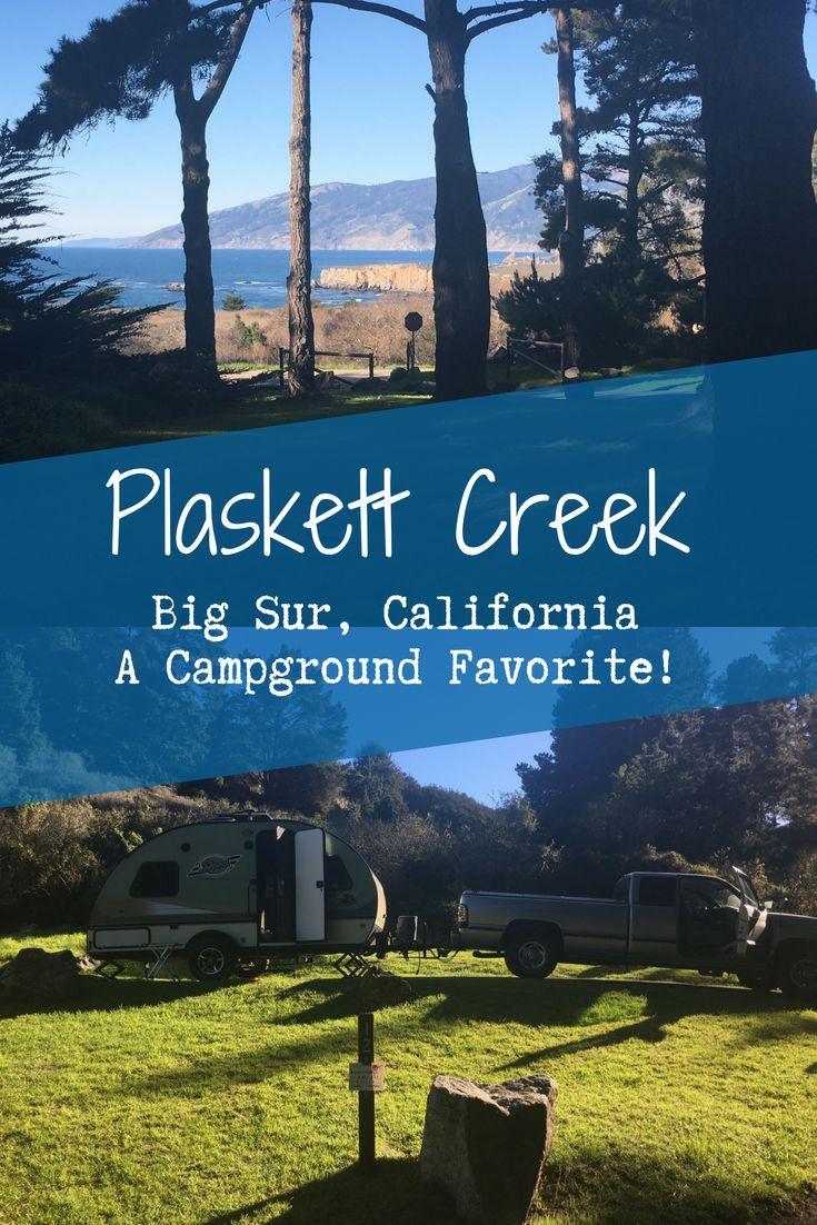 Plaskett Creek Campground Along California S Central Coast Near Big Sur Is A Campground Favorite Camping At Its Bes Campground California Camping California