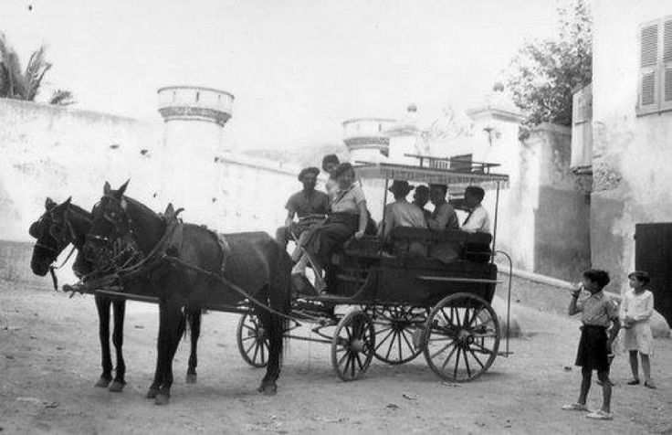 Transport Bastia Place d'Armes - 1935