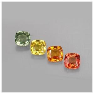 Jual Batu Mulia Saphhire 4 batu   Garansi Batu Alami 100%