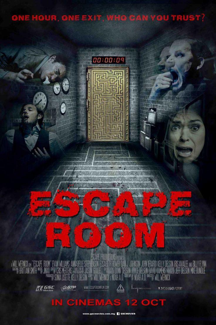 Escape Room New International Poster Https Teaser Trailer Com Movie Escape Room Escaperoom Escaperoommovi Escape Room Escape Room Online Full Movies