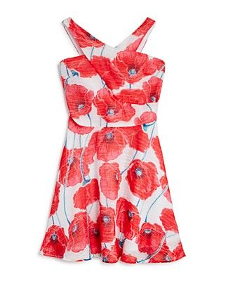 Miss Behave Girls' Winona Dress - Big Kid - I think size 8 would be too big for Sadie but she'd love this print