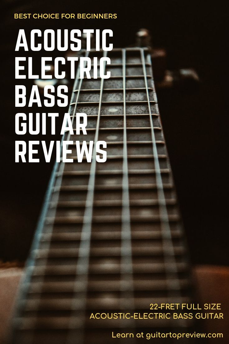 Best Choice Products 22 Fret Full Size Acoustic Electric Bass Guitar Is A Great Way To Begin Your Musical Activ Guitar Reviews Bass Guitar Best Acoustic Guitar