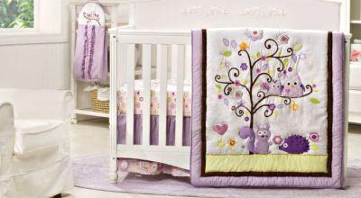 Woodland Baby Room Ideas   ... owl squirrel and hedgehog baby nursery bedding set woodland creatures