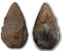 """in fact, in almost all parts of the world where their use has been forgotten -- flint arrowheads and axes turned up by farmer's plows are considered to have fallen from the sky. They are often thought to be thunderbolts and are called """"Thunderstones"""". It was not until travellers returned from far-away places where these implements were in actual use that the origins of these objects became known. Even then, these travelers' tales received little popular credence."""