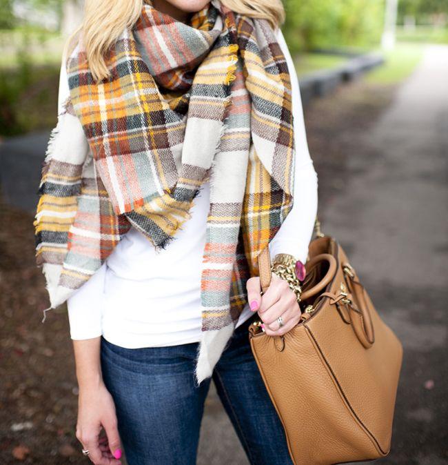 bd3a045984fa Pretty in Plaid Blanket Scarf. Tartan ScarfPlaid Blanket ScarfOutfit Jeans DandyStyle ...
