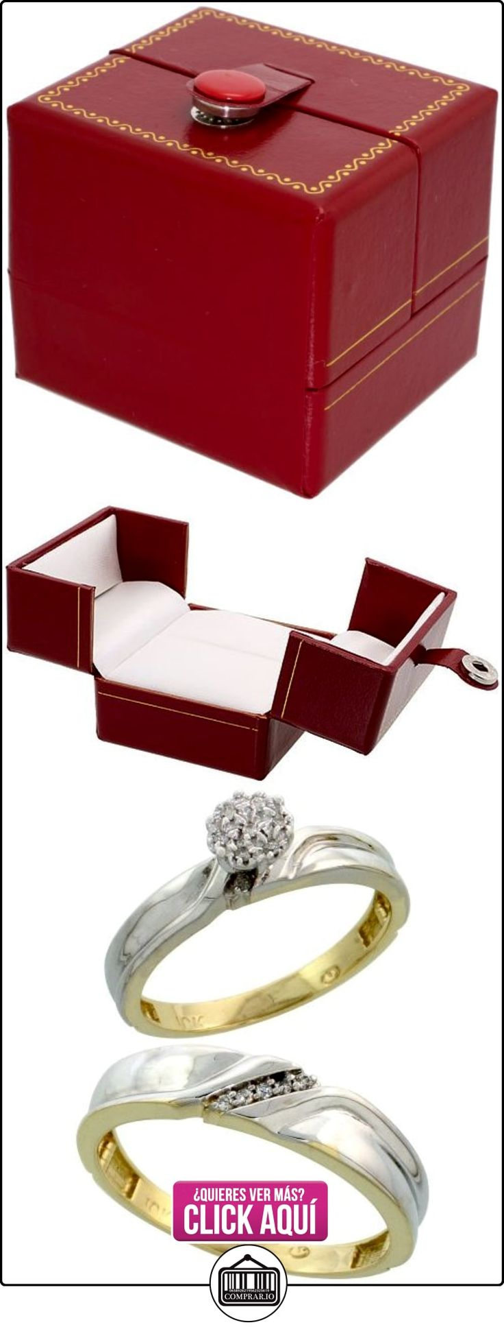 Revoni - Anillo de compromiso de oro amarillo  ✿ Joyas para hombres especiales - lujo ✿ ▬► Ver oferta: https://comprar.io/goto/B005M3CO86