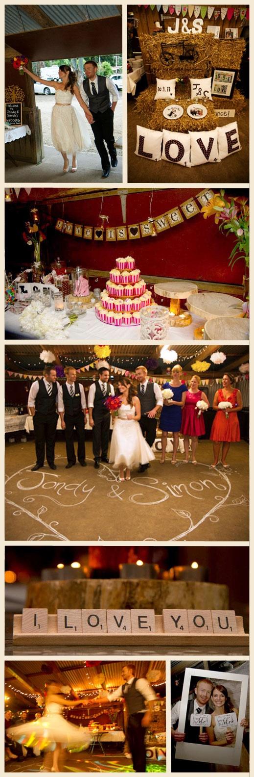 Stunning - homemade vintage wedding