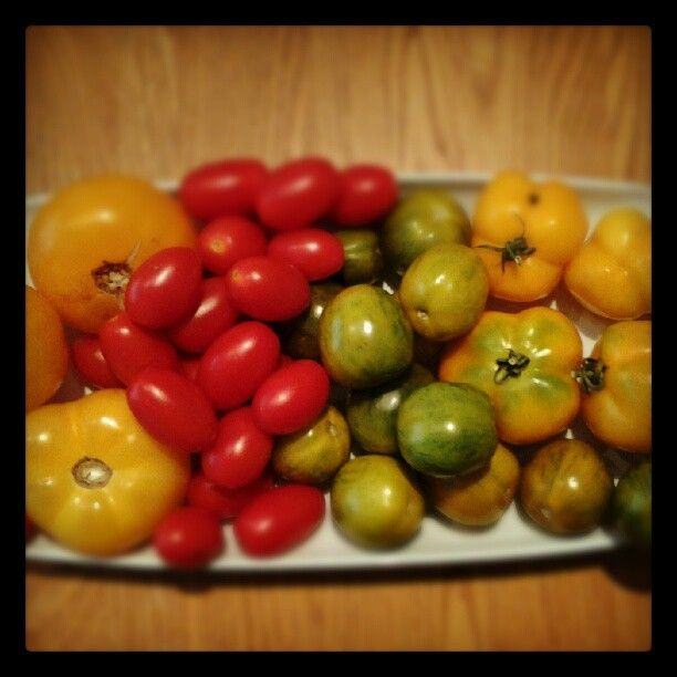 Photo by mamichanmakes tomato rainbow | Prepared Food at the Market ...